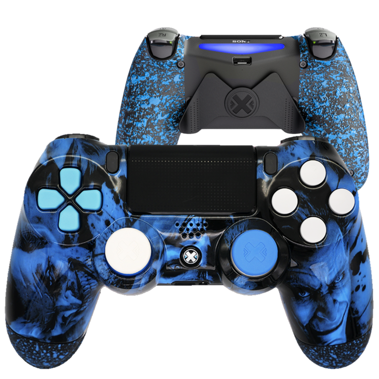 Mando Ps4 Joker Azul