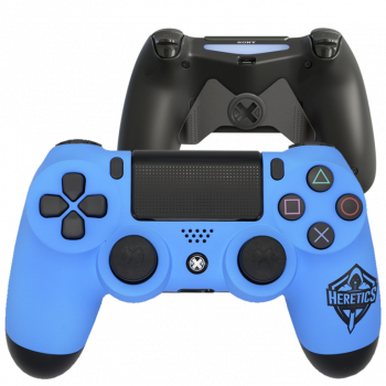Mando Ps4 Mate Azul Heretics