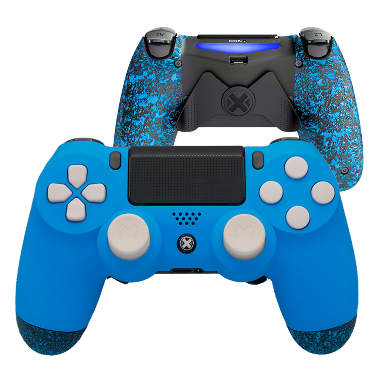 Mando Ps4 Mate Azul