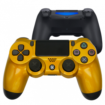 Mando Ps4 Lime Gold
