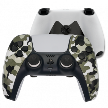 Mando Ps5 Camuflaje Blanco