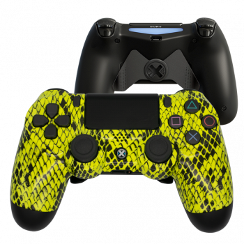 Mando Ps4 Snake Amarillo