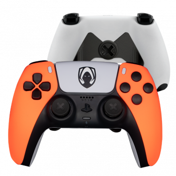 Mando Ps5 Heretics Naranja