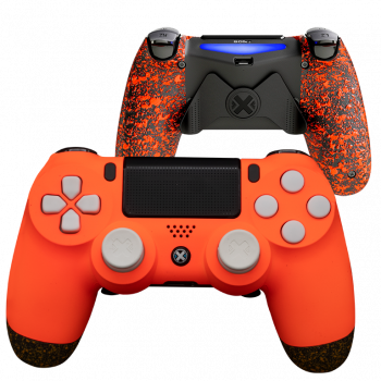 Mando Ps4 Mate Naranja