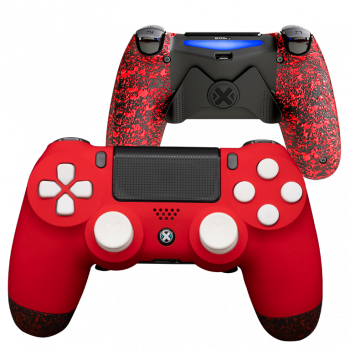 Mando Ps4 Mate Rojo