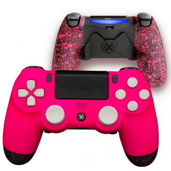 Mando Ps4 Mate Rosa