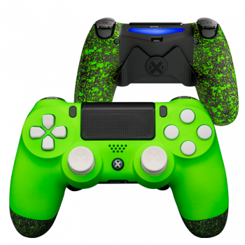 Mando Ps4 Mate Verde