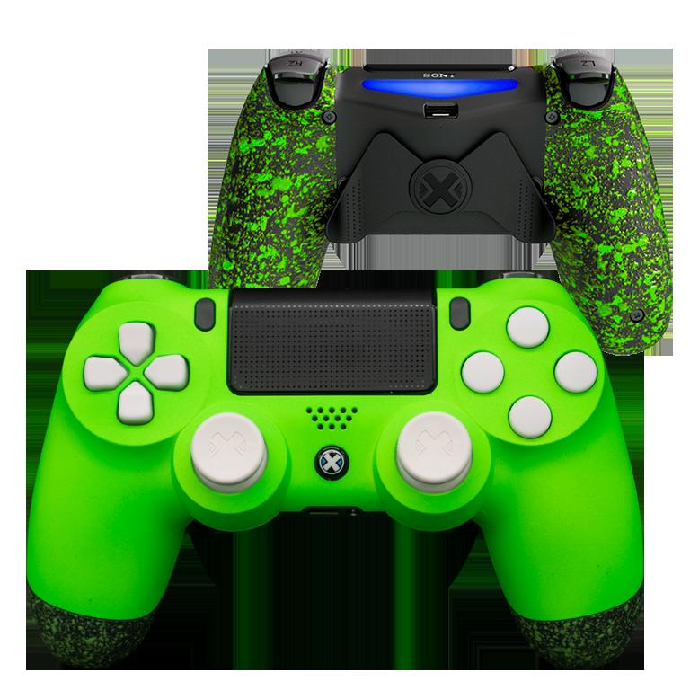 Mando Ps4 Mate Verde